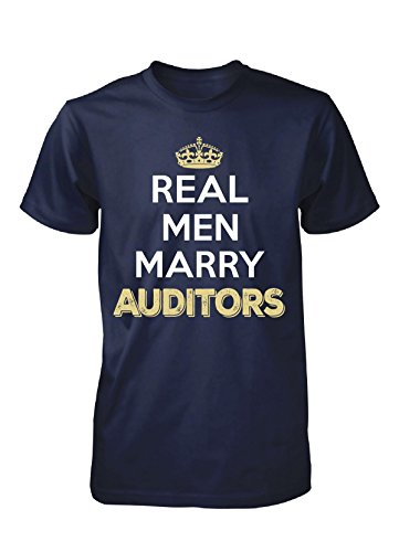 Real Men Marry Auditors. Cool Gift - Unisex Tshirt