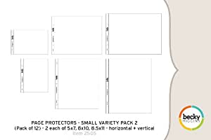 Page Protectors - Small Variety Pack 2