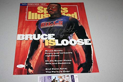 Buffalo Bills Bruce Smith Autographed Signed Autograph 11x14 Photo Sports Illustrated Hof 2009 JSA Authentic Bruce Smith Signed Bills