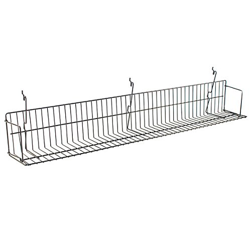 Video CD/DVD Shelf Slatwall Gridwall Pegboard Display 46