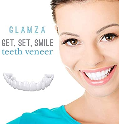 Amazon Com Get Set Smile Whitening Teeth Snap Cap On Instant