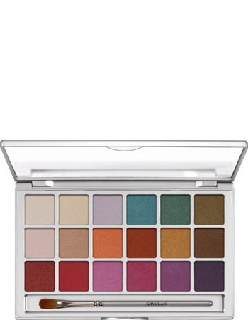 Kryolan Eye Shadow Variety 18 Colors 5318 V1 Interferenz Makeup Palette by Kryolan