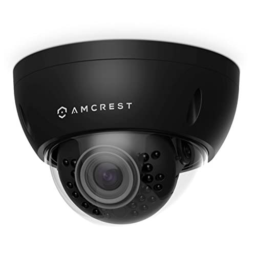 Amcrest ProHD Outdoor 3 Megapixel POE Vandal Dome IP Security Camera - IP67 Weatherproof, IK10 Vandal-Proof, 3MP (2048 TVL),...