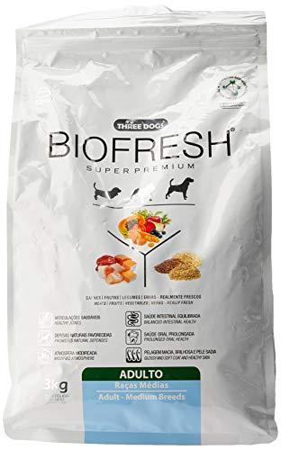 A Ração Hercosul Biofresh para Cães Adultos de Raças Médias Biofresh Para Todas Médio Adulto, 3kg