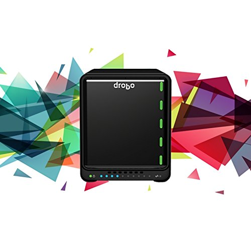 Drobo 5D3 5-Drive Direct Attached Storage (DAS) Array – Dual Thunderbolt 3 and USB 3.0 Type-C ports (DRDR6A21) by Drobo (Image #2)