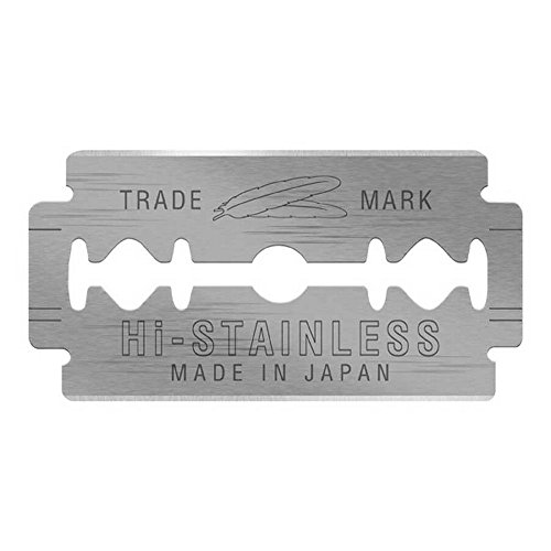 Top 9 recommendation feather new hi-stainless razor blades