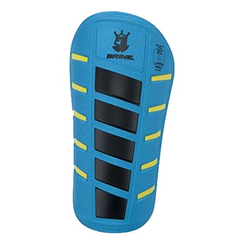 (Brine King G3 Soccer Shin Guards (Blue/Black,)