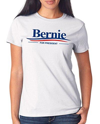 Bernie Sanders T-Shirt Girls White Certified Freak