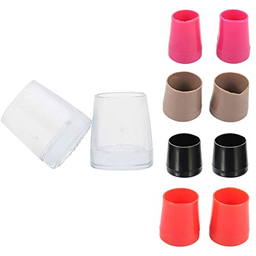 xxiaoTHAWxe High Heel Protectors, Non-Slip High Heel Protectors Savers Stopper Shoes Caps Dancing Stiletto Covers Transparent Color S by THAWxe (Image #3)