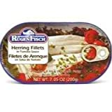 RuegenFisch Herring Fillets in Tomato Sauce, 7.05 Ounce - 16 per case.