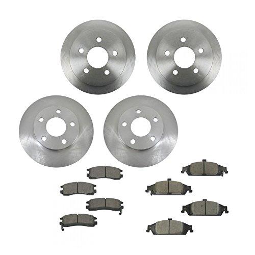 02 pontiac grand am front rotors - 5