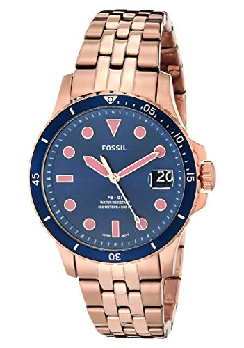 Fossil Women's FB-01 Stainless Steel Casual Quartz Watch