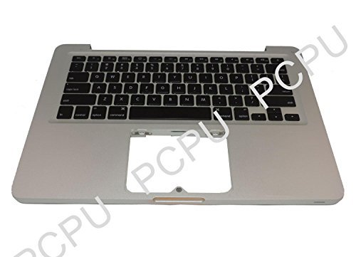 Replacement Part 661-6595 Macbook Pro 13'' Unibody Top Case Keyboard Assembly for APPLE by Apple