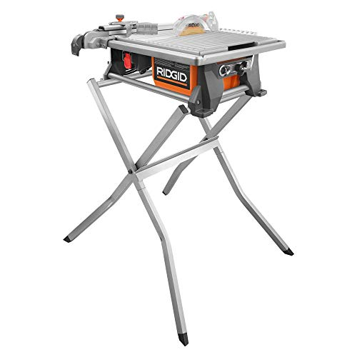 Ridgid R4021SN 120-Volt 7 in. Tabletop Wet Tile Saw Stand