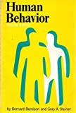 Human Behavior : An Inventory of Scientific Findings Shorter Ed, Berelson, Bernard and Steiner, Gary A., 0155397907