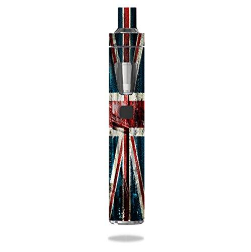 Joyetech eGo AIO Vape E-Cig Mod Box Vinyl DECAL STICKER Skin Wrap / Vintage British Flag UK PRINTED ()