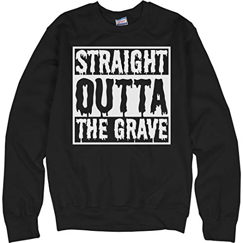 Customized Girl Straight Outta The Grave: Unisex Ultimate