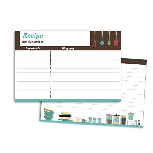 4x6 recipe card meadowsweet - 7