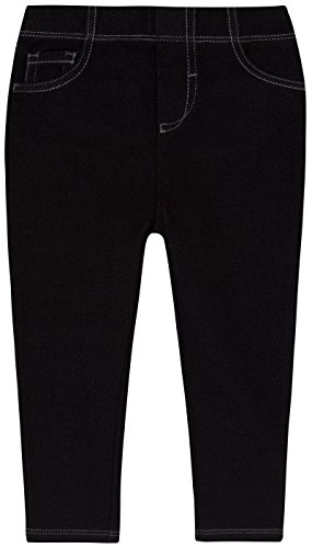 Levi's Baby-girls Infant 9527 Essential Knit Legging, Black, 24 Months