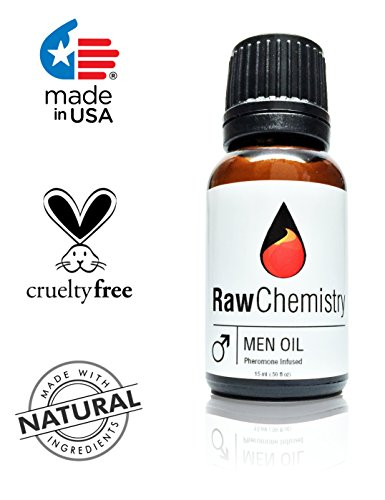 Pheromones For Men Pheromone Cologne Oil [Attract Women] Bold, Extra Strength Human Pheromones Formula by RawChemistry – 15mL Concentrate (Human Grade Pheromones to Attract Women)