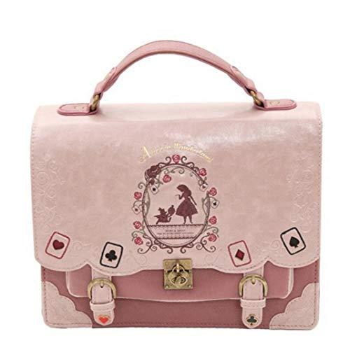 Women Backpack Vintage Messenger Bag School Backpack Shoulder Bags for Girls Alice Bag in Wonderland Back Pack