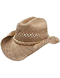Straw Cowboy Hat-Natural Roll W35S16A dbd84914f164