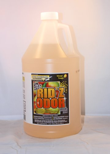 Unbelieveable Rid'z Odor Concentrate Cleaner - Mango Tango, 128oz by Rid'z Odor