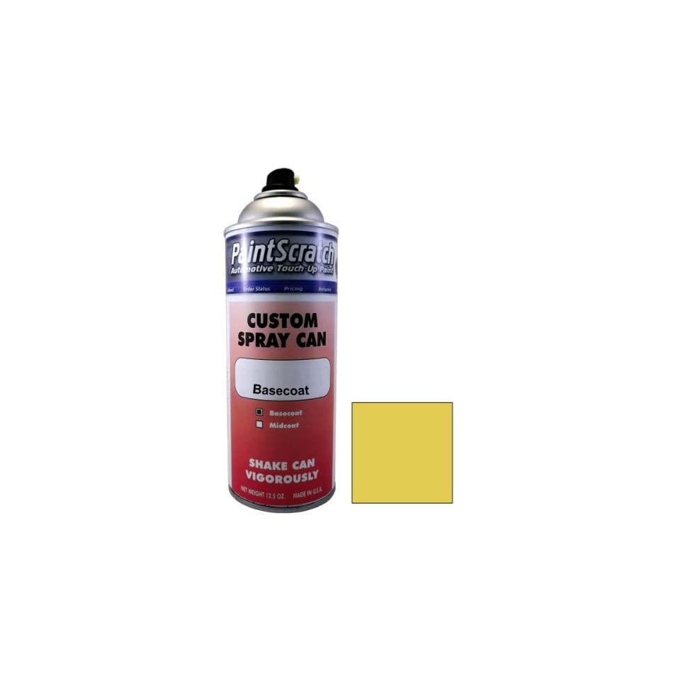 12.5 Oz. Spray Can of Gold Metallic Touch Up Paint for 2003 Mercedes Benz SLK Class (color code 030/0030) and Clearcoat