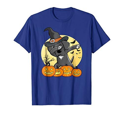 Dabbing Great Dane Halloween Tshirt Dab Dance Dog