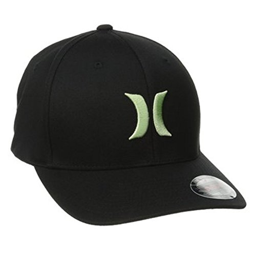 Hurley Men's One and Only Flexfit Hat (Large/X-Large, Neo...