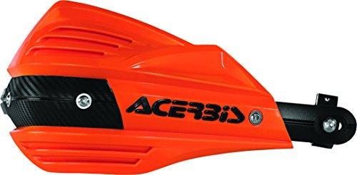Acerbis X-Factor Handguards (Orange/Black) ()
