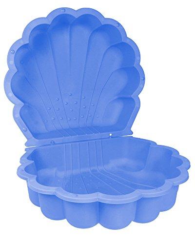 Paradiso Toys Sandmuschel/Wassermuschel blau, 2 tlg. 87 x 78 x 19,5 cm