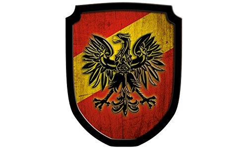 Holzspielerei Bois Gadget 33550Plaque de r–Armoiries Aigle Rouge 33550-R