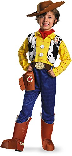 [Woody Deluxe Costume - X-Small] (Woody Toy Story Costume Baby)