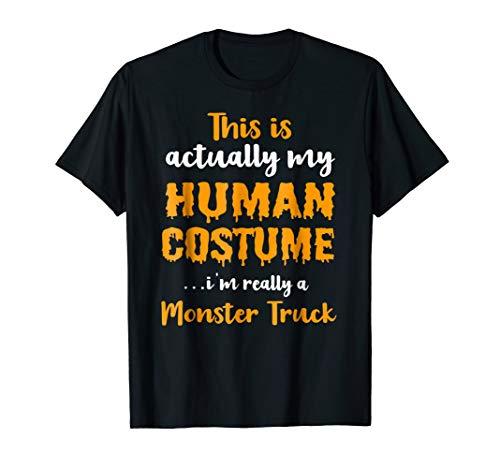 Funny Monster Truck Halloween Costume 2018 T Shirt]()