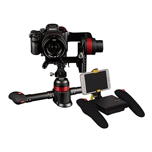 Ikan MD2 3-Axis Handheld Gimbal Stabilizer with Remote Kit (Wenpod), Black (MD2-KIT)