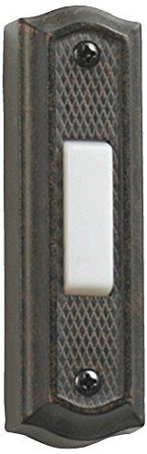 - Quorum International 7-301-44 Zinc Door Button, Toasted Sienna