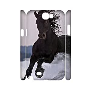Horse 3D-Printed ZLB535127 Customized 3D Phone Case for Samsung Galaxy Note 2 N7100