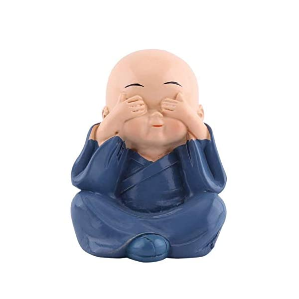 Buddha Statue Monk Crafts Home Decorative