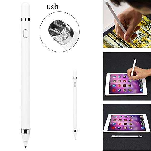 (Yellsong Stylus Pen Active Touch Screen Drawing Pen USB Charging Capacitor for Cellphone, iPhone, iPad Tablets PC, Samsung)