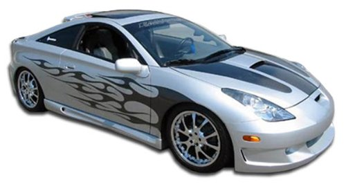 2000-2005 Toyota Celica Duraflex Type K Side Skirts Rocker Panels - 2 (Racing Types Side Skirts)