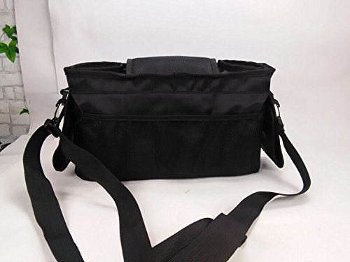 Stroller Organizer with Bonus Shoulder Strap - Baby Diaper Bag – Baby Accessory Bag – Baby Shower Gift – Water Proof & Eco-Friendly baby bag – Fits all Stroller – Stroller Organizer Baby Jogger by Zafmen (Image #10)