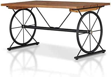 ioHOMES Urbancrest Industrial Wood Coffee Table