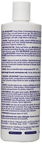Virbac 001816 Epi-Soothe Cream Rinse Pet Conditioner, 16 oz by Virbac (Image #1)