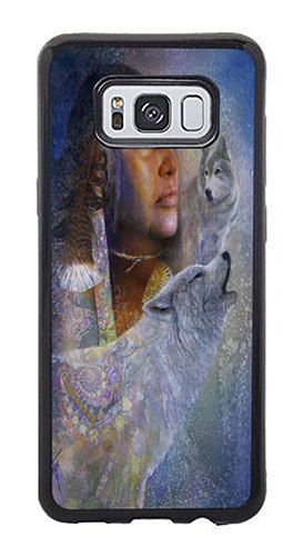 AOFFLY Case for Samsung Galaxy S8 Plus Only - Denton Lund - Spirits In The Mist - Shock Absorption Protection Phone Cover Case