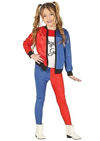 Magic Box Disfraz de Suicidio Harley Quinn para niños Small 3-4 Years: Amazon.es: Juguetes y juegos