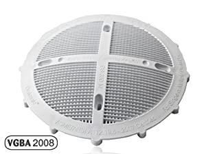 Ds 360 drainsafe anti entrapment pool drain cover swimming pool cleaning tools for Swimming pool drain cover replacement