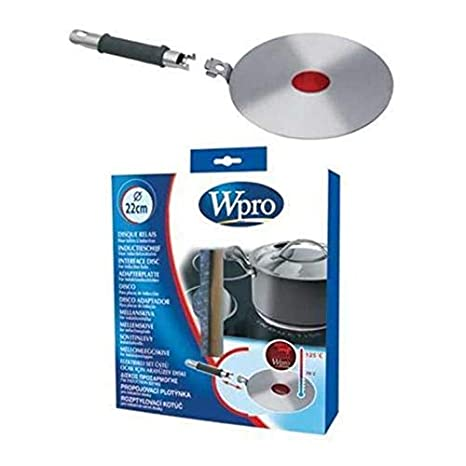 WHIRLPOOL - Disco adaptador 22 cm. placa induccion punto ...