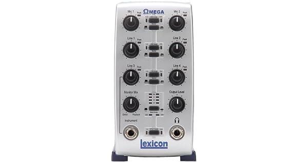 Amazon.com: Lexicon Omega computadora Estudio de grabación ...