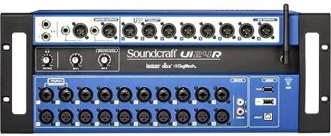soundcraft ui24r 24 Canal Digital mesa de mezclas: Amazon.es ...